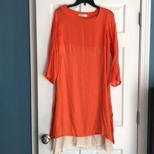 ☀️Linen Tunic Dress Coverup